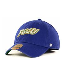 47 Brand | Blue Florida Gulf Coast Eagles Ncaa '47 Franchise Cap for Men | Lyst