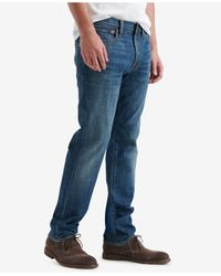 Lucky Brand - Blue 410 Athletic Fit Slim Leg Jeans for Men - Lyst