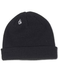 Volcom - Black Full Stone Beanie for Men - Lyst