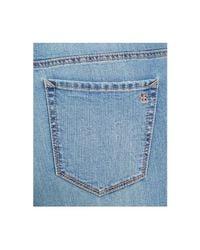 Jessica Simpson - Blue Trendy Plus Size Ripped Floral-appliqué Skinny Jeans - Lyst