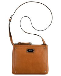 Nine West | Brown Double Vision Crossbody | Lyst