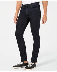 Kenneth Cole - Blue Denim Skinny Jeans for Men - Lyst