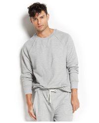 2xist | Gray 2(x)ist Men's Loungewear, Terry Pullover Sweatshirt for Men | Lyst