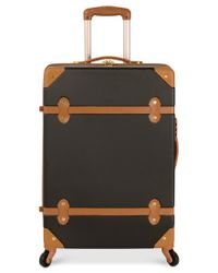 Diane von Furstenberg | Black Adieu 20-Inch Carry On Hardside Spinner Suitcase | Lyst