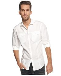INC International Concepts | White Men's Core Topper Shirt, Only At Macy's for Men | Lyst