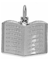 Rembrandt Charms - Metallic Sterling Silver Book Charm - Lyst