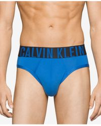 Calvin Klein - Blue Men's Intense Power Hip Briefs for Men - Lyst