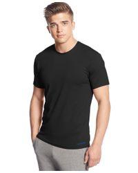 Calvin Klein | Black Air Crew Neck Undershirt Nb1063 for Men | Lyst