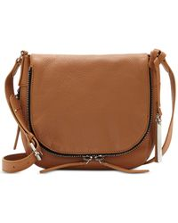 Vince Camuto | Brown Baily Saddle Crossbody | Lyst