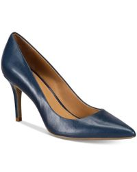 Calvin Klein | Blue Women's Gayle Pointed-toe Pumps | Lyst