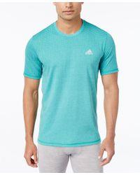 Adidas Originals - Blue Men's Aeroknit Climacool T-shirt for Men - Lyst