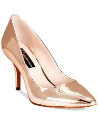 INC International Concepts | Pink Womens Zitah Pointed Toe Pumps, Only At Macy's | Lyst