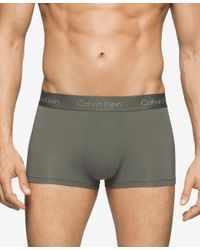 Calvin Klein | Gray Men's Underwear, Micro Modal Basic Trunk U5554 for Men | Lyst