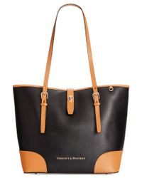 Dooney & Bourke | Black Claremont Dover Tote | Lyst