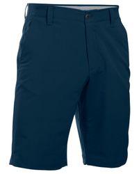 Under Armour | Blue Men's Match Play Golf Shorts for Men | Lyst