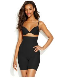 Miraclesuit | Black Extra Firm Shape Away High Waist Thigh Slimmer 2919 | Lyst