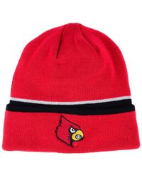 Adidas - Red Coach Cuffed Knit Hat - Lyst