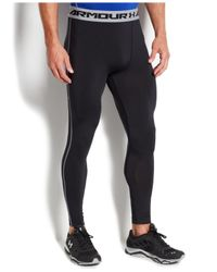 Under Armour | Black Men's Heatgear Armour Compression Tights for Men | Lyst
