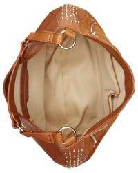 INC International Concepts | Brown Delaney Large Stud Hobo | Lyst