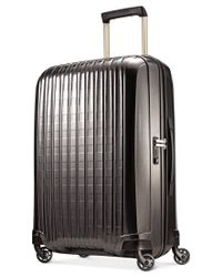 "Hartmann | Gray Innovaire 21"" Global Carry On Hardside Spinner Suitcase 