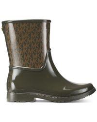 Michael Kors - Green Sutter Rain Boots - Lyst