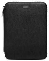 Michael Kors | Black Electronics Shadow Mini Ipad Case for Men | Lyst