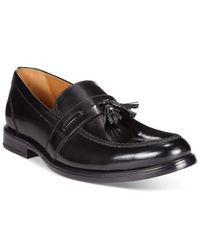 Bostonian | Black Kinnon Step Tassel Loafers for Men | Lyst