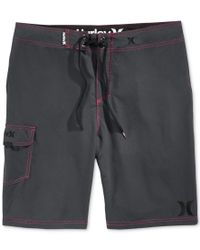 "Hurley | Gray Men's One & Only 22"" Board Shorts for Men 