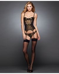 L'Agent by Agent Provocateur | Metallic Iana Basque L072-25 | Lyst