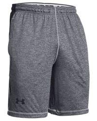 "Under Armour | Gray Men's Raid Twist Performance 10"" Shorts for Men | Lyst"