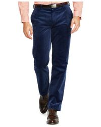 Polo Ralph Lauren | Blue Men's Classic-fit Stretch-corduroy Newport Pants for Men | Lyst
