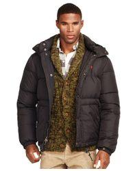 Polo Ralph Lauren   Black Elmwood Down-feathers Jacket for Men   Lyst