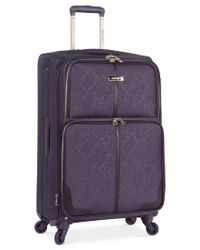 "Nine West - Purple Closeout! 70% Off Naria 24"" Spinner Suitcase, Only At Macy's for Men - Lyst"