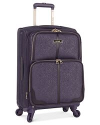 "Nine West | Purple Closeout! 70% Off Naria 20"" Carry On Spinner Suitcase, Only At Macy's for Men 