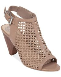 Vince Camuto | Brown Emilla Dress Sandals | Lyst