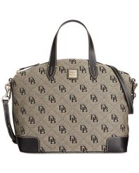 Dooney & Bourke | Natural Americana Signature Gabriella Satchel, A Macy's Exclusive Style | Lyst
