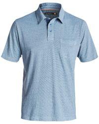 Quiksilver   Blue Waterman Strolo 5 Polo for Men   Lyst