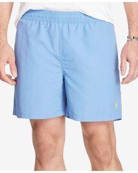 Polo Ralph Lauren | Blue Men's Big & Tall Hawaiian Swim Boxers for Men | Lyst