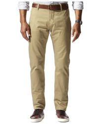 Dockers | Natural Slim Tapered Fit Alpha Khaki Pants for Men | Lyst