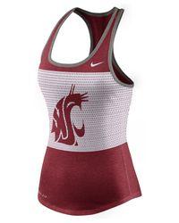 Nike - Purple Women's Washington State Cougars Dri-blend Mesh Tank Top - Lyst