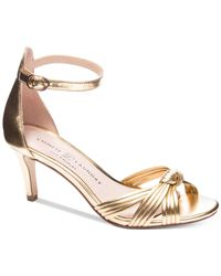 Chinese Laundry - Metallic Robbie Dress Sandals - Lyst