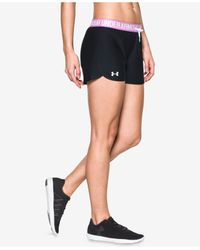 Under Armour | Black Play Up Shorts | Lyst
