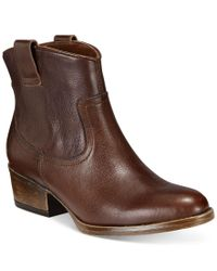 Kenneth Cole Reaction | Brown Women's Hot Step Booties | Lyst