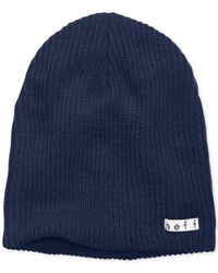 Neff | Blue Daily Solid Beanie for Men | Lyst