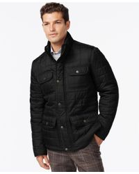 Tommy Hilfiger | Black Four-pocket Quilted Jacket for Men | Lyst