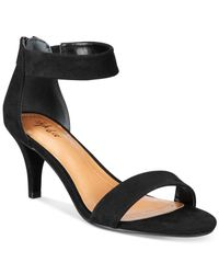 Style & Co. | Black Paycee Two-piece Dress Sandals, Only At Macy's | Lyst