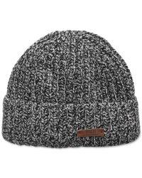 Polo Ralph Lauren - Black Ragg Wool Cuff Cap for Men - Lyst