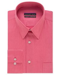 Geoffrey Beene | Pink Non-iron Big And Tall Sateen Solid Dress Shirt for Men | Lyst