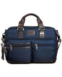Tumi | Blue Alpha Bravo Andersen Slim Commuter Briefcase for Men | Lyst