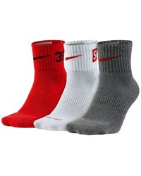 Nike - Gray 3 Pack for Men - Lyst
